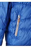 Зимняя пуховая куртка - жилетка для мальчика Reima Martti 531345-6680. Размеры 128 - 158., фото 5