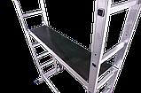Лестница-помост универсальная многоцелевая 2 х 7 ступеней, фото 4
