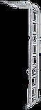 Шарнірна універсальна драбина трансформер чотирьохсекційна 3 на 4 ступені, фото 4