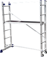 Лестница-помост универсальная многоцелевая 2 х 7 ступеней