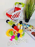 Дитячий візок з продуктами 922-75 музична, фото 3