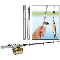 Карманная мини удочка ручка Pocket pen fishing rod, фото 1