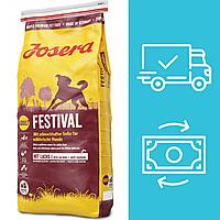 Корм Йозера Фестиваль Josera Festival корм для вибагливих собак з лососем 15кг