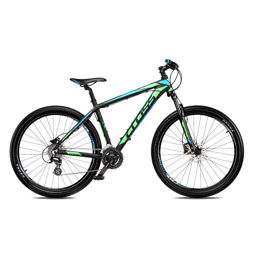 "Велосипед 27,5"" CROSS GRX рама 18"" 2018 зеленый"