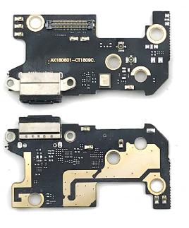 Шлейф для Xiaomi Mi8 с разъемом зарядки и микрофоном, плата зарядки