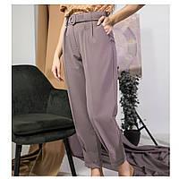 Классические женские брюки, пудра (Украина), фото 1