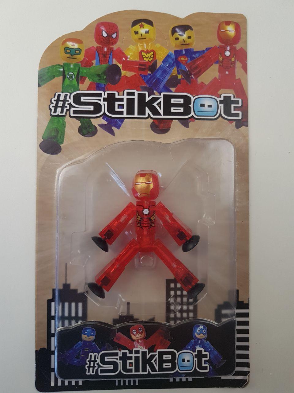 """Стикбот Железный человек Stik Bot"""" JL18370 """" Супергерои"""