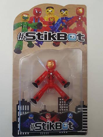 """Стикбот Железный человек Stik Bot"""" JL18370 """" Супергерои, фото 2"""