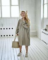 Платье-рубашка широкое, стиль оверсайз, цвет и размер 40-74+ плюс сайз есть