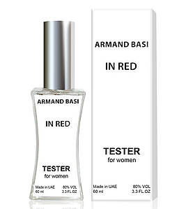 Тестер Armand Basi In Red (edp 60ml)