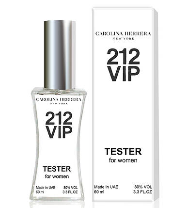 Тестер Carolina Herrera 212 VIP (edp 60ml), фото 2