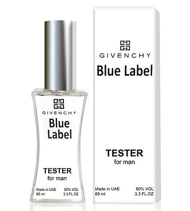 Тестер Givenchy Pour Homme Blue Label (edp 60ml), фото 2