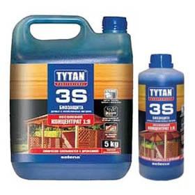 Биозащита для дачных и хозяйственных построек Tytan 3S 1 кг