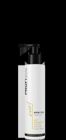 Крем-гель для дисципліни локонів для кучерявого волосся 150 мл Profi Style