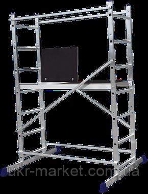 Вышка-тура строительная алюминиевая рабочая высота 5.0 (м), фото 2