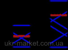 Вышка-тура строительная алюминиевая рабочая высота 5.0 (м), фото 3