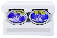 Противотуманные фары SIRIUS. Дополнительные противотуманки универсальные с креплением. Ø 9,8см