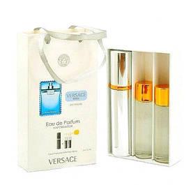 Набор с феромонами Versace Man Eau Fraiche (3×15 ml)