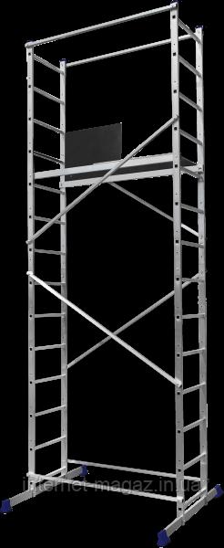 Вышка-тура строительная алюминиевая рабочая высота 3.0 (м)
