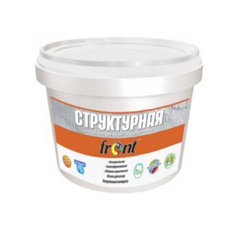 Краска Фронт акриловая структурная (12 кг)