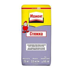 """Стяжка для пола """"Момент"""" (25 кг)"""