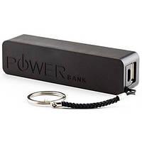 Мобильная батарея / Внешний аккумулятор / Power bank (2200 mA/ч)  - Черный