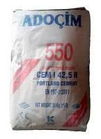 Цемент ПЦ-550 25 кг ADOCIM (Турция) (60шт/пал)