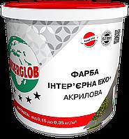 Краска интерьерная ЕКО+ акриловая ANSERGLOB (14 кг)