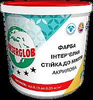 Акриловая краска стойкая к мытью ANSERGLOB (14 кг)