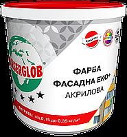 Фасадная акриловая краска ANSERGLOB ЕКО+ (14 кг)