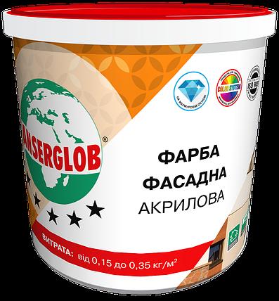 Фасадная акриловая краска ANSERGLOB (7 кг), фото 2