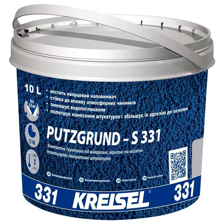 Адгезионная грунтовка Kreisel PUTZGRUND 331 (10 л)