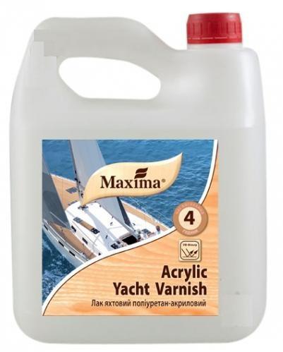 Лак полиуретан-акриловый яхтный Maxima глянцевый (2,5 л)