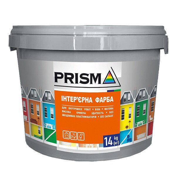 Фарба в/д Prisma ЕКО інтер'єрна 7 кг