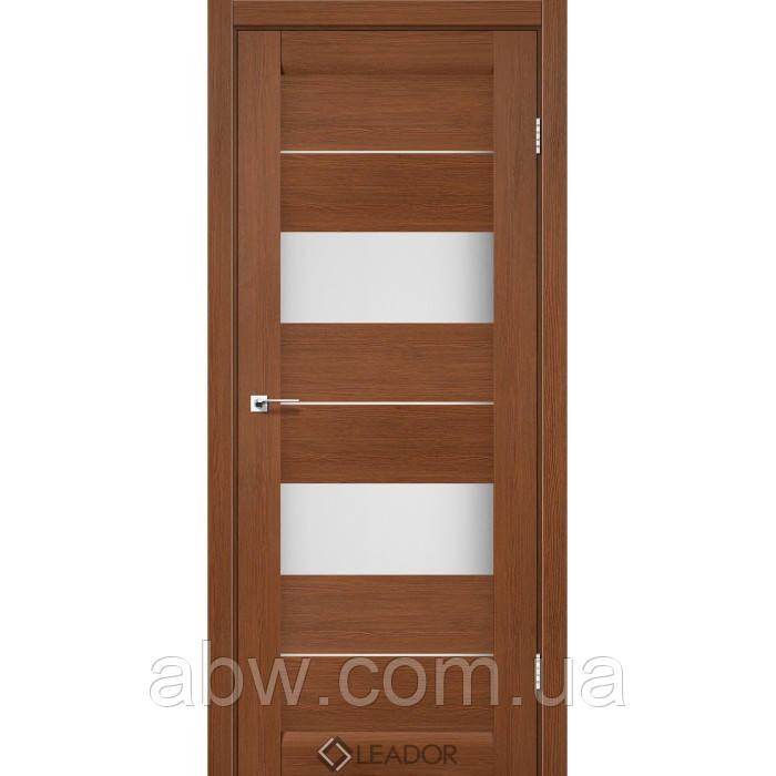 Межкомнатная дверь Leador Canneli браун