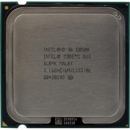 Процессор Intel C2D E8500 /2(2)/ 3.16GHz  + термопаста 0,5г