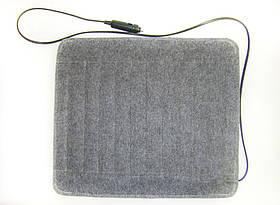Инфракрасный коврик Adenki с подогревом в автомобиль от прикуривателя 35 Вт температура до 40 градусов Серый (46-891713263)