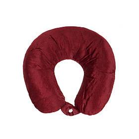 Дорожная подушка Supretto для путешествий Бордовый (56040004)