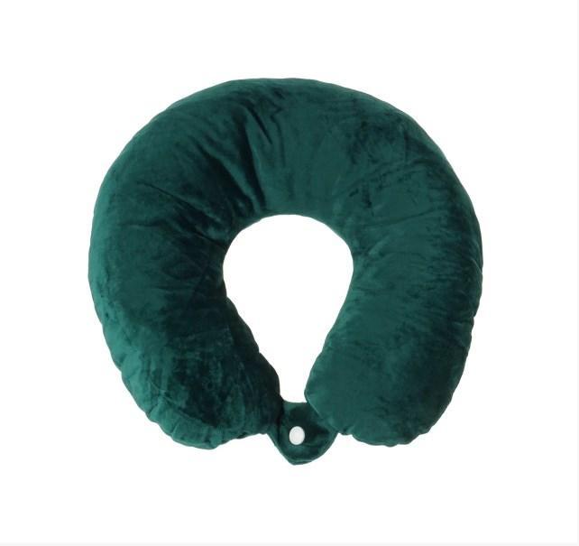 Дорожная подушка Supretto для путешествий Зеленый (56040007)
