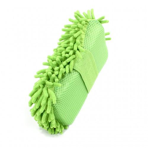 Автомобильная губка для мытья машины Lesko 11х23х5.5 см Green (4031-11842a)