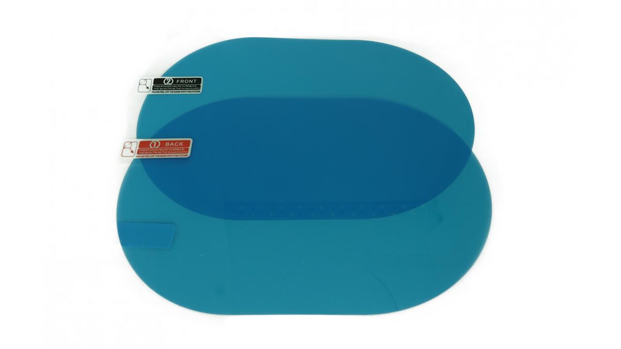 Пленка Анти-туман для зеркала на авто Optima 2 шт 100х150 мм Прозрачный (hub_ViLN29826)