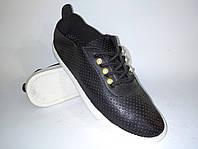 Кроссовки женски кедычерные легкая удобная обувь на каждый день эко-кожа размерная сетка 37,39,40р маломерят