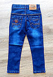 """Дитячі джинси на хлопчика """"DIFAN VALEN"""" з регуляторами гумками по боках розміри 20 та 30, фото 2"""