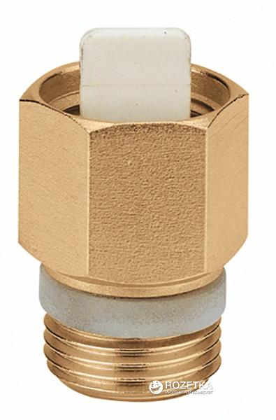"""Зворотний клапан для повітровідвідника (серія 502) d-1/2"""", 110°C, 10 бар PTFE CALEFFI (шт)"""