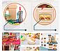 Детская кухня Bozhi Toys Fun Cooking 838, световые и звуковые эффекты, 39 предметов, течет вода, холодный пар Розовый, фото 5