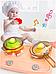 Детская кухня Bozhi Toys Fun Cooking 838, световые и звуковые эффекты, 39 предметов, течет вода, холодный пар Розовый, фото 6