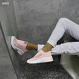 Кроссовки  39 размер женские  текстиль А26563, фото 4