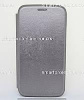 Чехол книжка для Samsung J260, J2 Core графит