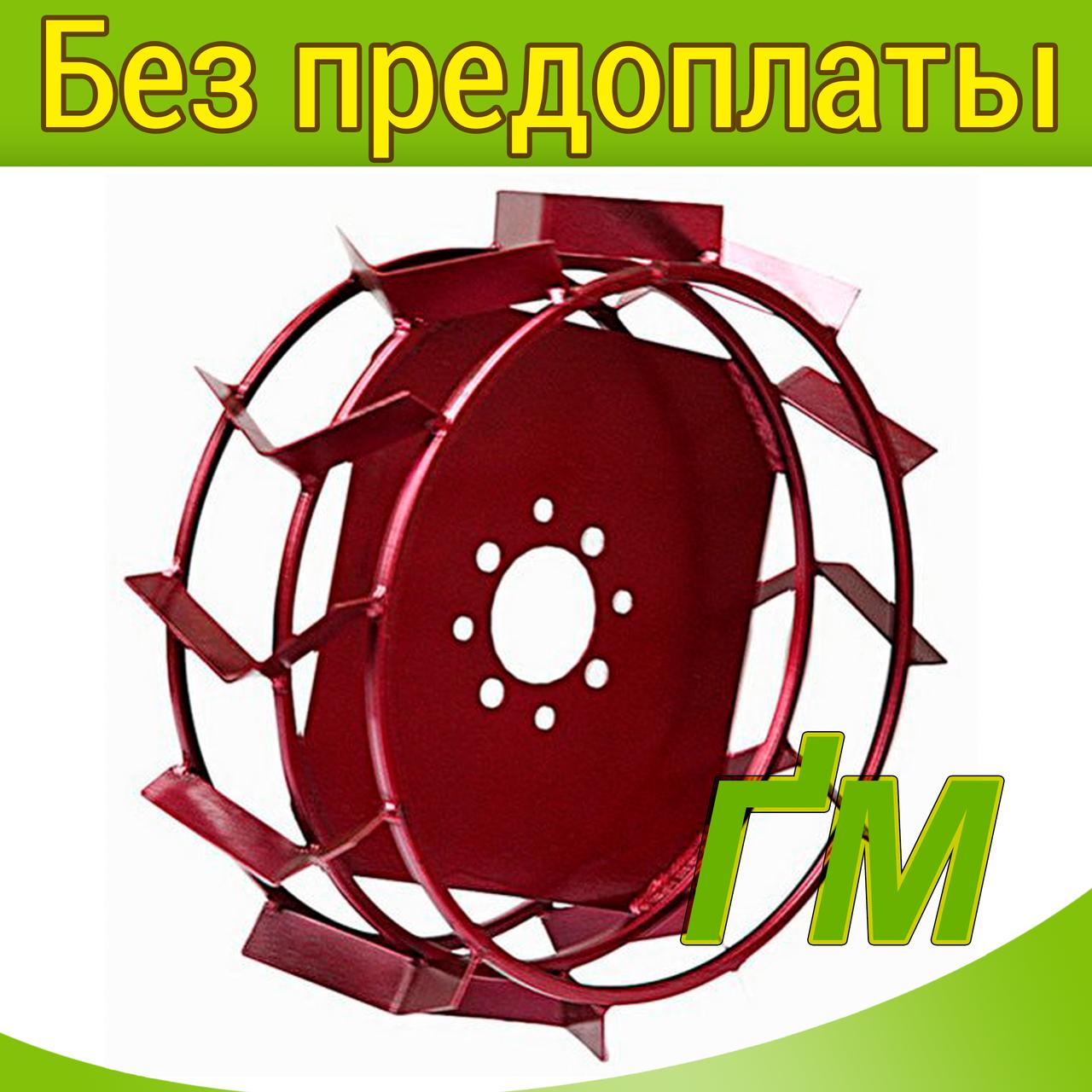 Грунтозацепы (колеса) Ф450 на квадрате