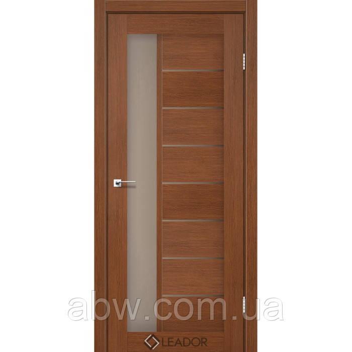 Межкомнатная дверь Leador Lorenza браун
